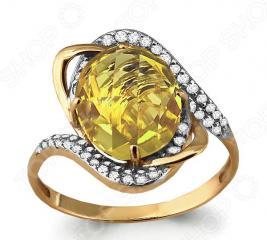 Кольцо «Сияние золота» 6560411А
