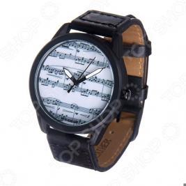 Часы наручные Mitya Veselkov «Ноты» MVBlack