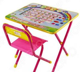 Набор мебели детский: стол и стул Дэми «Алфавит»