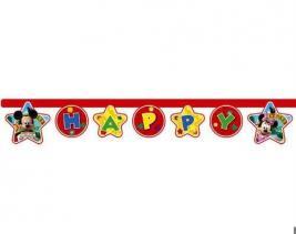 Гирлянда детская Procos «Веселый Микки-Happy Birthday»