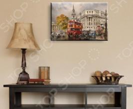 Картина модульная ТамиТекс «Автобус»