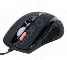 Мышь A4Tech ХL-750MK Black USB