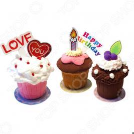 Набор для лепки Kinder Club Mini Cup Cake