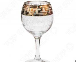 Набор фужеров для вина Гусь Хрустальный «Греческий Узор»