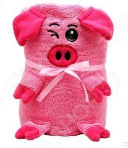 Полотенце-игрушка Coool Toys «Розовая свинка»