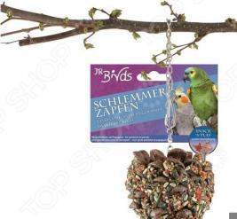 Шишка-лакомство для попугаев средних и больших размеров JR Farm Schlemmer Zapten