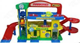 Набор игровой для мальчика Wader «Гараж премиум с автомобилями»