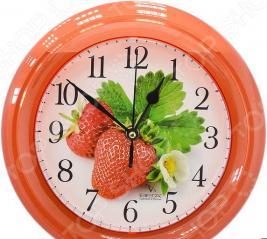 Часы настенные Вега П 6-1-101 «Клубника»