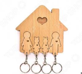 Ключница Mimi «Семья с двумя дочками»