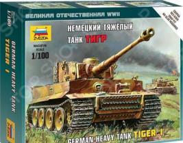 Сборная модель танка Звезда «Немецкий тяжелый танк Тигр»