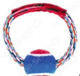 Игрушка для собак DEZZIE «Кольцо с мячом»