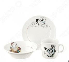 Набор посуды Коралл 4С0497/1Ф34 «Далматинцы»