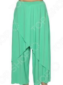 Юбка-брюки Pretty Woman «Крылья Пегаса». Цвет: светло-бирюзовый
