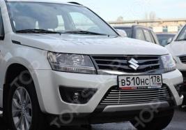 Декоративные элементы воздухозаборника Souz-96 Suzuki Grand Vitara 5D 2012