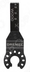 Полотно пильное для резки дерева и металла заподлицо Dremel MM411