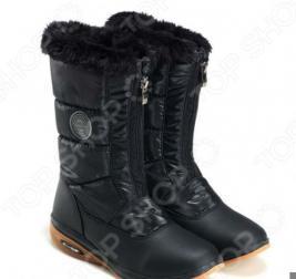 Дутики снежные Walkmaxx. Цвет: черный