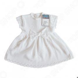 Платье детское с коротким рукавом EKO «Ажурная сказка»