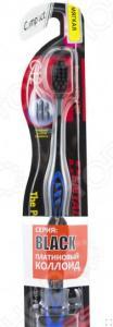 Зубная щетка DENTALPRO PCC Black Compact Head. Жесткость: мягкая (soft). В ассортименте