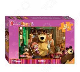 Пазл 35 элементов MAXI Step Puzzle «Маша и Медведь»