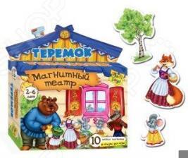 Игра развивающая для малыша Vladi Toys «Магнитный театр. Теремок»