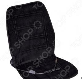 Накидка на сиденье с подогревом и терморегулятором SKYWAY «Тонкие полоски» матовое
