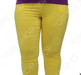 Брюки Milana Style «Элен». Цвет: желтый