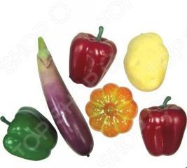 Набор игровой из овощей Тилибом Т80313