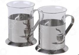 Набор стаканов Rosenberg «Ностальгия». Рисунок: кофе