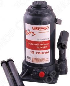 Домкрат гидравлический бутылочный SKYWAY S01804003