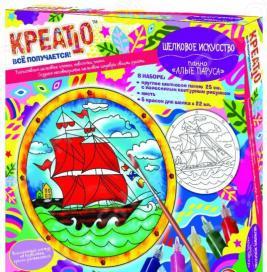 Набор для росписи по ткани Креатто «Панно: Алые паруса»