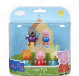 Игровой набор с фигурками Росмэн «Пеппа и друзья»