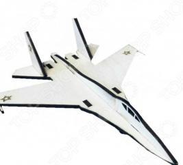 Открытка-трансформер Bradex «Современный самолет»