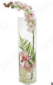 Декоративные цветы Dream Garden «Орхидея светло-розовая» в вазе