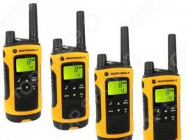 Комплект из четырех раций Motorola TLKR-T80EXT Quad