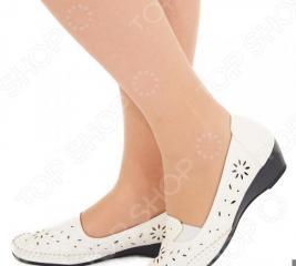 Туфли EGO «Бланка». Цвет: белый