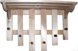 Полка с вешалкой Банные штучки 6 рожков