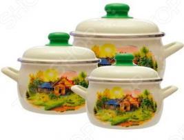 Набор посуды Metrot Домик в деревне