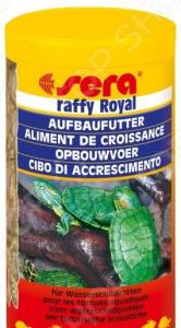 Корм для молодых черепах и хищных рыб Sera Raffy Royal