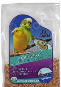 Добавка минеральная для волнистых попугаев и канареек JR Farm Jod Plus