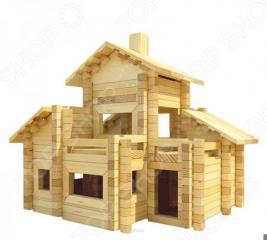 Конструктор деревянный Лесовичок «Разборный домик №6»