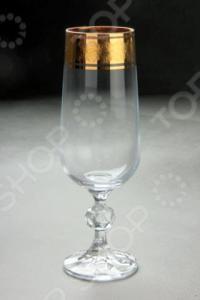 Набор бокалов для шампанского Коралл «Снежная королева»