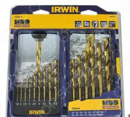 Набор из 15 сверл по металлу IRWIN Titanium