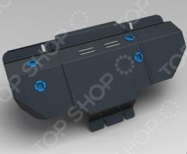 Комплект: защита раздатки и крепеж Novline-Autofamily Subaru Forester 2009-2012: 2,0/2,5 бензин/дизель АКПП/МКПП