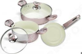 Набор кухонной посуды c внутренним керамическим покрытием Vitesse VS-2217