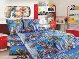 Детский комплект постельного белья Бамбино «Трансформеры»