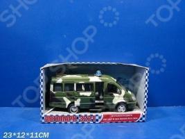 Машина инерционная Joy Toy «Газель 3221 Военная» Р40531