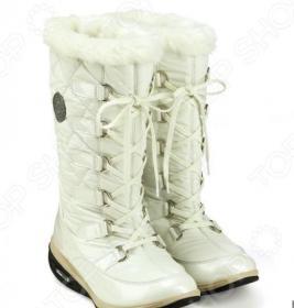 Сапоги зимние Walkmaxx Snow Boots. Цвет: белый