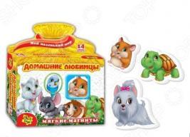 Игра развивающая на магнитах Vladi Toys «Домашние любимцы» 291040