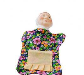 Кукла на руку Русский стиль «Бабка» 11010