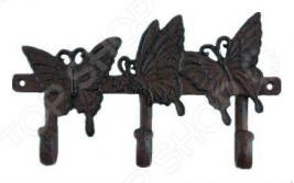 Вешалка декоративная GREEN APPLE GBL2-12-12 «Бабочки»